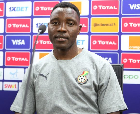 Kwadwo Asamoah of Ghana during the 2019 Africa Cup of Nations Ghana Press Conference at Ismailia Stadium in Ismailia, Egypt on 28 June 2019 © Guy Suffo/BackpagePix