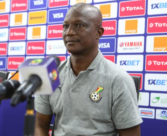 James Kwesi Appiah coach of Ghana during the 2019 Africa Cup of Nations Ghana Press Conference at Ismailia Stadium in Ismailia, Egypt on 28 June 2019 © Guy Suffo/BackpagePix