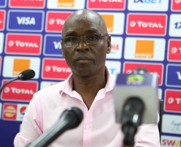 Baciro Cande Coach of Guinea Bissau during the 2019 Africa Cup of Nations Guinea Bissau Press Conference at Ismailia Stadium in Ismailia, Egypt on 28 June 2019 © Guy Suffo/BackpagePix