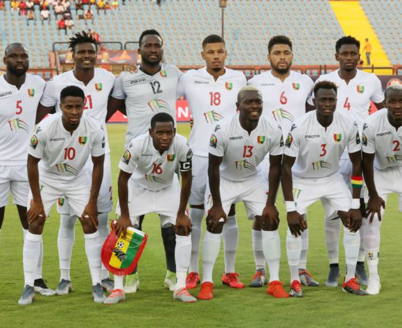 Guinea Team Picture during the 2019 Africa Cup of Nations Finals football match between Burundi and Guinea at the Al Salam Stadium, Cairo, Egypt on 28 June 2019 ©Gavin Barker/BackpagePix