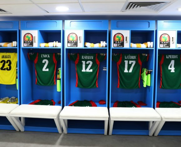 General View of Burundi changeroom during the 2019 Africa Cup of Nations Finals football match between Burundi and Guinea at the Al Salam Stadium, Cairo, Egypt on 28 June 2019 ©Gavin Barker/BackpagePix