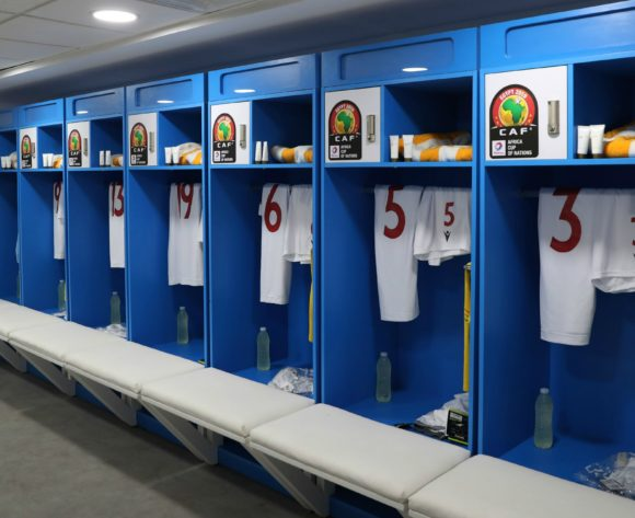General View of Guinea changeroom during the 2019 Africa Cup of Nations Finals football match between Burundi and Guinea at the Al Salam Stadium, Cairo, Egypt on 28 June 2019 ©Gavin Barker/BackpagePix