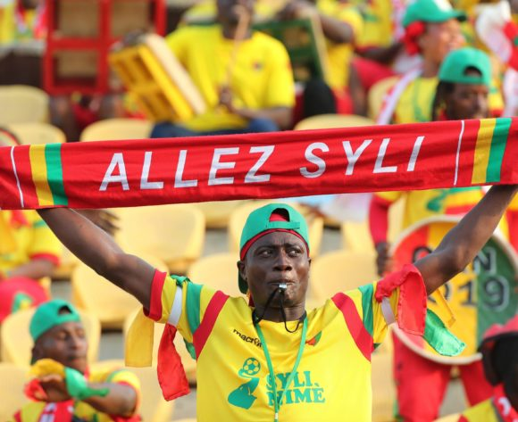 Guinea Fans during the 2019 Africa Cup of Nations Finals football match between Burundi and Guinea at the Al Salam Stadium, Cairo, Egypt on 28 June 2019 ©Gavin Barker/BackpagePix