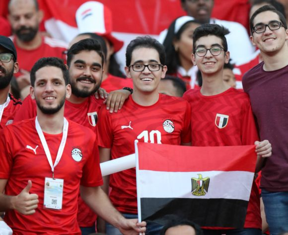 Egypt fans during the 2019 Africa Cup of Nations Finals match between Egypt and Zimbabwe at Cairo International Stadium, Cairo, Egypt on 21 June 2019 ©Samuel Shivambu/BackpagePix