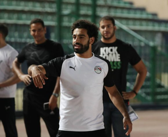 Mohamed Salah during the 2019 Africa Cup of Nations Finals training session for Egypt at the Military Stadium, Cairo, Egypt on 25 June 2019 ©Gavin Barker/BackpagePix
