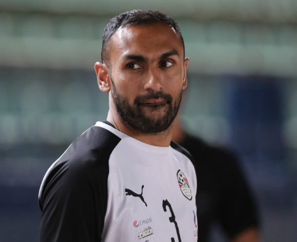 Ahmed El Mohamady of Egypt during the 2019 Africa Cup of Nations Finals training session for Egypt at the Military Stadium, Cairo, Egypt on 25 June 2019 ©Gavin Barker/BackpagePix