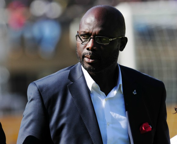 Weah named as Africa's best ever player