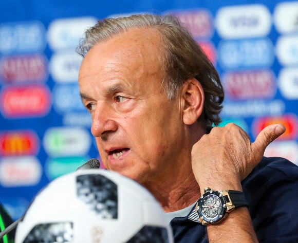 Gernot Rohr to give rusty players game time against Zimbabwe