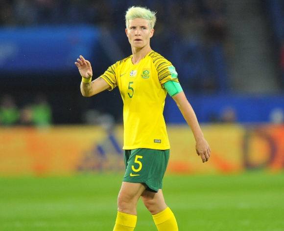 SA captain Janine van Wyk promises a fight against Germany