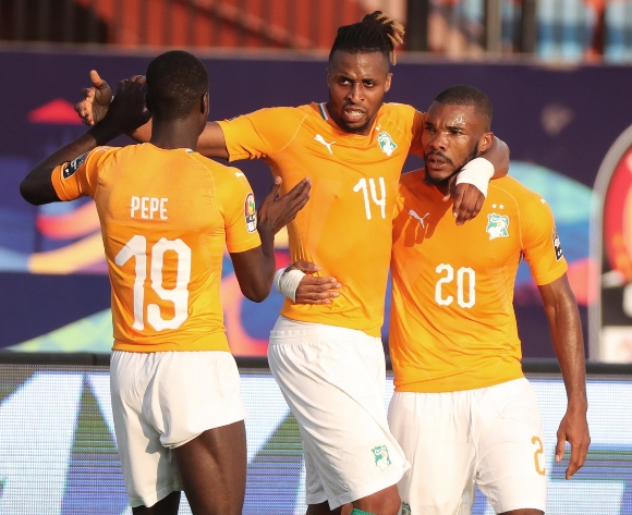 Kodjia's strike fires Ivory Coast past South Africa