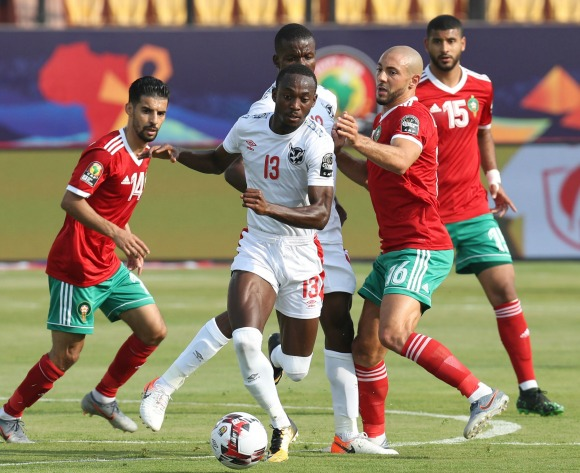 Keimuine's own-goal helps Morocco edge Namibia