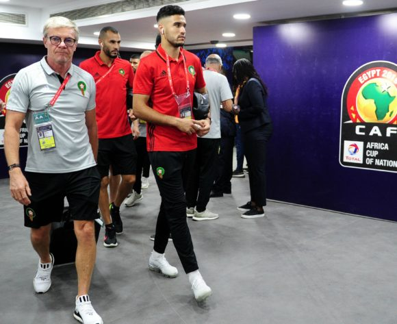 Morocco arrivals before 2019 Africa Cup of Nations Finals match between Morocco and Ivory Coast at Al Salam Stadium in Cairo, Egypt on 28  June 2019 © Ryan Wilkisky/BackpagePix
