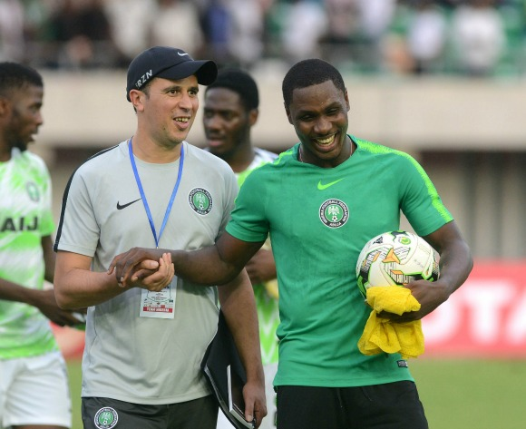 Ighalo lauds Nigeria captain Mikel ahead of AFCON