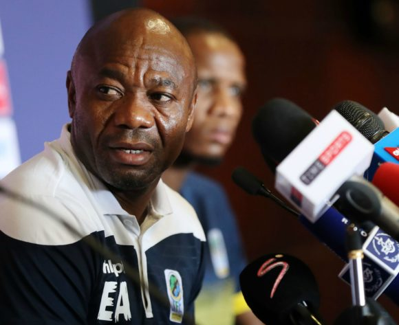 Emmanuel Amunike, coach of Tanzania during the 2019 Africa Cup of Nations Finals Tanzania press conference at 30 June Stadium, Cairo, Egypt on 26 June 2019 ©Samuel Shivambu/BackpagePix