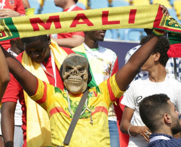 Mali fans during the 2019 Africa Cup of Nations Finals match between Tunisia and Mali at Suez Stadium, Suez, Egypt on 28 June 2019 ©Samuel Shivambu/BackpagePix