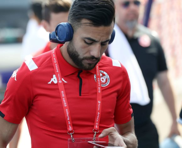 Tunisia players arrives during the 2019 Africa Cup of Nations Finals match between Tunisia and Mali at Suez Stadium, Suez, Egypt on 28 June 2019 ©Samuel Shivambu/BackpagePix