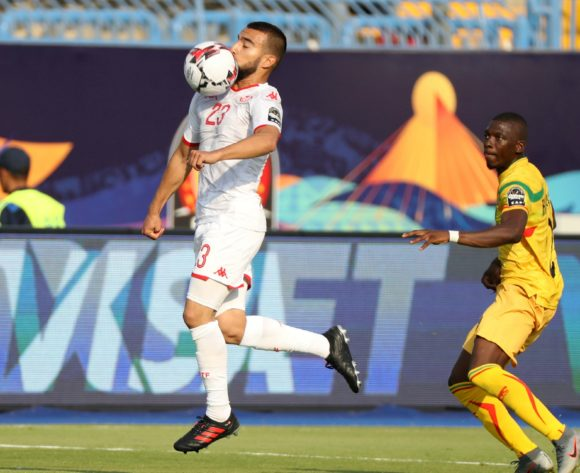 Sliti Naim of Tunisia challenged by Hamari Traoré of Mali during the 2019 Africa Cup of Nations Finals match between Tunisia and Mali at Suez Stadium, Suez, Egypt on 28 June 2019 ©Samuel Shivambu/BackpagePix
