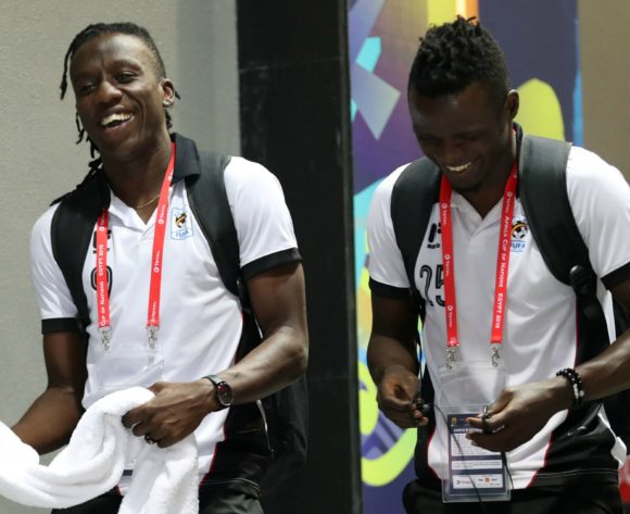 Uganda players arrivals during the 2019 Africa Cup of Nations Finals Uganda and Egypt at Cairo International Stadium, Cairo, Egypt on 30 June 2019 ©Samuel Shivambu/BackpagePix