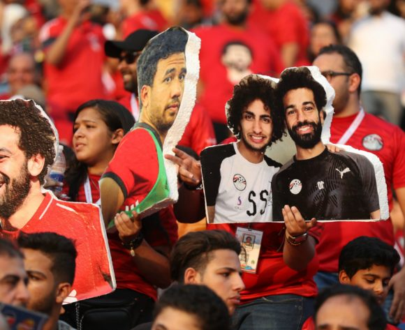Egypt fans during the 2019 Africa Cup of Nations Finals Uganda and Egypt at Cairo International Stadium, Cairo, Egypt on 30 June 2019 ©Samuel Shivambu/BackpagePix