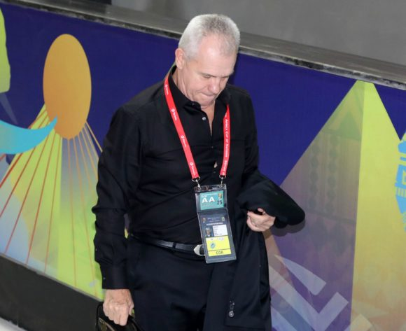 Javier Aguirre, head coach of Egypt arrives during the 2019 Africa Cup of Nations Finals Uganda and Egypt at Cairo International Stadium, Cairo, Egypt on 30 June 2019 ©Samuel Shivambu/BackpagePix