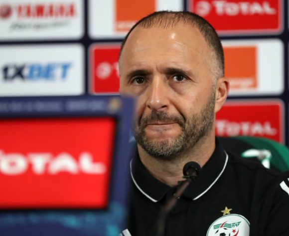 Djamel Belmadi, head coach of Algeria during the 2019 Africa Cup of Nations Finals, semifinals Algeria press conference at Cairo International Stadium, Cairo, Egypt on 13 July 2019 ©Samuel Shivambu/BackpagePix