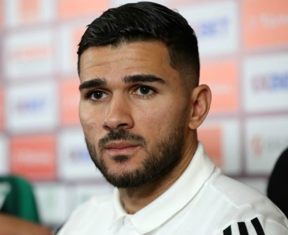 Mehdi Abeid of Algeria during the 2019 Africa Cup of Nations Finals, semifinals Algeria press conference at Cairo International Stadium, Cairo, Egypt on 13 July 2019 ©Samuel Shivambu/BackpagePix