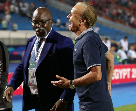 NFF president Amaju Pinnick: We back Gernot Rohr