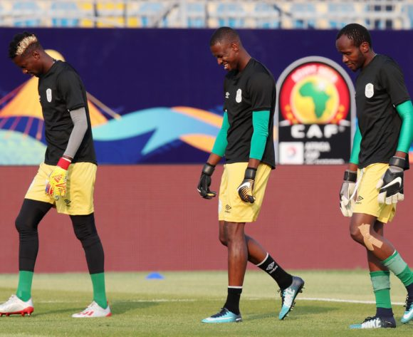 Namibia during the 2019 Africa Cup of Nations match between Namibia and Ivory Coast at the 30 June Stadium, Cairo on the 01 July 2019 ©Muzi Ntombela/BackpagePix