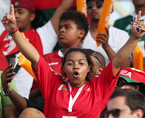 Madagascar president jets supporters to AFCON
