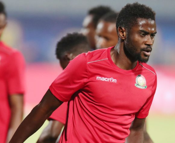 Musa Mohamed of Kenya during the 2019 Africa Cup of Nations match between Kenya and Senegal at the 30 June Stadium, Cairo on the 01 July 2019 ©Muzi Ntombela/BackpagePix