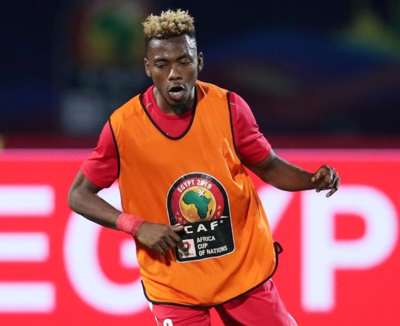 Aboud Omar of Kenya during the 2019 Africa Cup of Nations match between Kenya and Senegal at the 30 June Stadium, Cairo on the 01 July 2019 ©Muzi Ntombela/BackpagePix