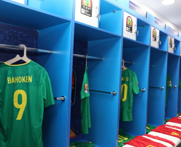 Cameroon dressing room during the 2019 Africa Cup of Nations match between Benin and Cameroon at the Ismailia Stadium, Ismailia on the 02 July 2019 ©Muzi Ntombela/BackpagePix