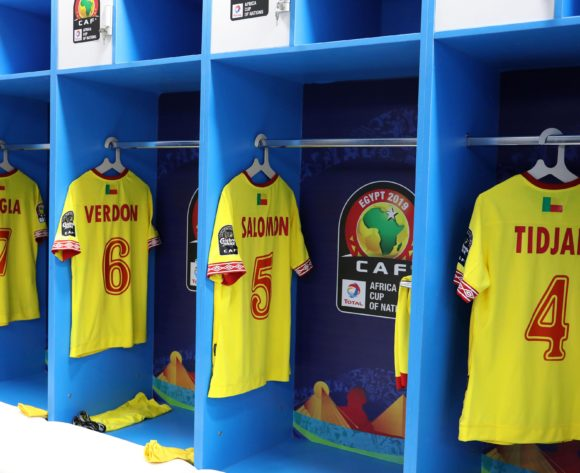 Benin dressing room during the 2019 Africa Cup of Nations match between Benin and Cameroon at the Ismailia Stadium, Ismailia on the 02 July 2019 ©Muzi Ntombela/BackpagePix
