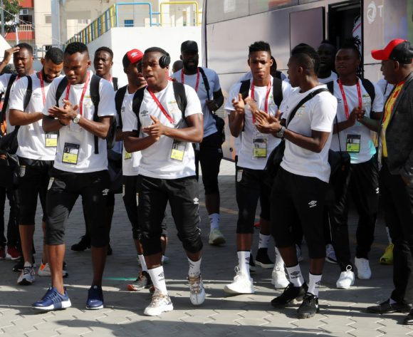 Benin players arrival during the 2019 Africa Cup of Nations match between Benin and Cameroon at the Ismailia Stadium, Ismailia on the 02 July 2019 ©Muzi Ntombela/BackpagePix