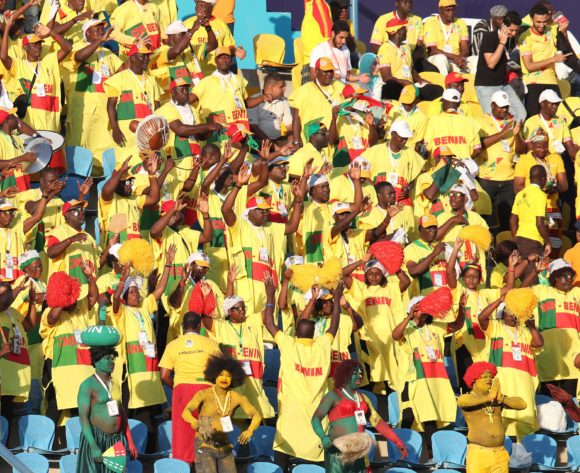 Benin fans during the 2019 Africa Cup of Nations match between Benin and Cameroon at the Ismailia Stadium, Ismailia on the 02 July 2019 ©Muzi Ntombela/BackpagePix