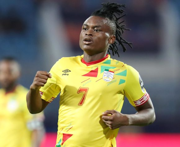 David Djigla of Benin during the 2019 Africa Cup of Nations match between Benin and Cameroon at the Ismailia Stadium, Ismailia on the 02 July 2019 ©Muzi Ntombela/BackpagePix