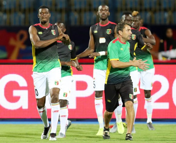 Mali team warming up during the 2019 Africa Cup of Nations match between Angola and Mali at the Ismailia Stadium, Ismailia on the 02 July 2019 ©Muzi Ntombela/BackpagePix