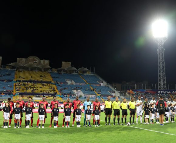Team line ups during the 2019 Africa Cup of Nations match between Angola and Mali at the Ismailia Stadium, Ismailia on the 02 July 2019 ©Muzi Ntombela/BackpagePix