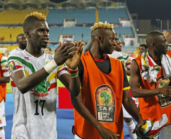 Mali players celebrates with fans during the 2019 Africa Cup of Nations match between Angola and Mali at the Ismailia Stadium, Ismailia on the 02 July 2019 ©Muzi Ntombela/BackpagePix