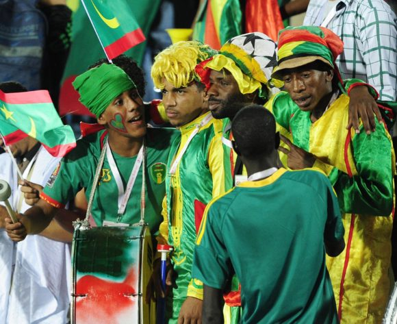 Mauritania fans during the 2019 Africa Cup of Nations Finals football match between Mauritania and Tunisia at the Suez Stadium, Suez, Egypt on 02 July 2019 © Ryan Wilkisky/BackpagePix