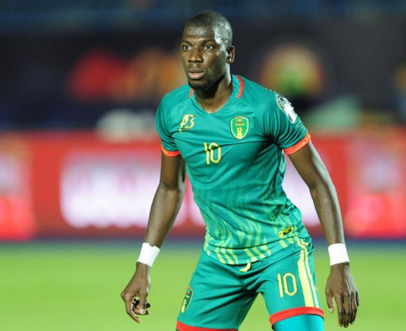 Adama Ba of Mauritania during the 2019 Africa Cup of Nations Finals football match between Mauritania and Tunisia at the Suez Stadium, Suez, Egypt on 02 July 2019 © Ryan Wilkisky/BackpagePix