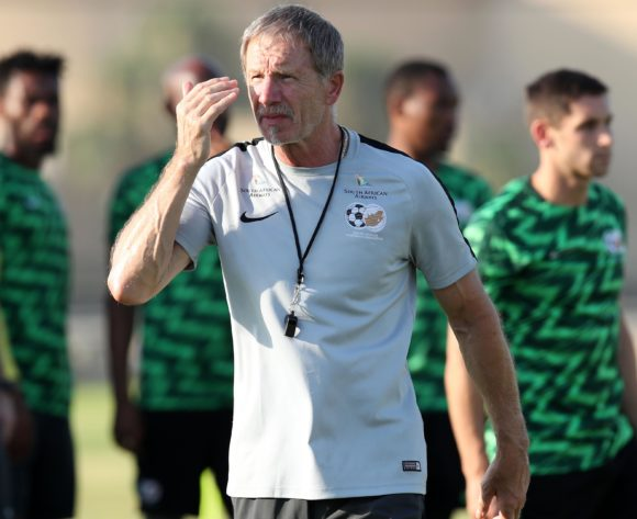 Stuart Baxter, head coach of South Africa during the 2019 Africa Cup of Nations South Africa Training at the Aero Sports Complex, Cairo on the 04 July 2019 ©Muzi Ntombela/BackpagePix