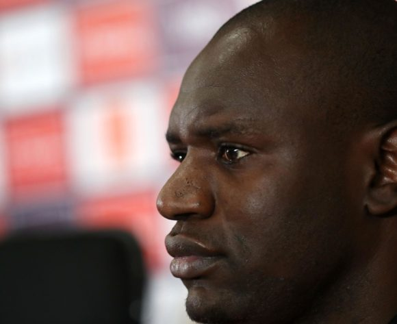 Denis Onyango of Uganda during the 2019 Africa Cup of Nations Finals Uganda press conference at Cairo International Stadium, Cairo, Egypt on 04 July 2019 ©Samuel Shivambu/BackpagePix