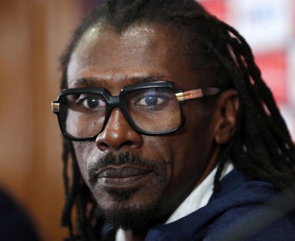 Aliou Cisse, head coach of Senegal during the 2019 Africa Cup of Nations Finals Senegal press conference at Cairo International Stadium, Cairo, Egypt on 04 July 2019 ©Samuel Shivambu/BackpagePix
