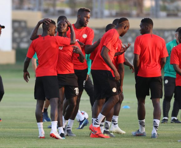 Sadio Mane of Senegal with his teammates during the 2019 Africa Cup of Nations Finals Senegal training at 30 June Annexe, Cairo, Egypt on 04 July 2019 ©Samuel Shivambu/BackpagePix