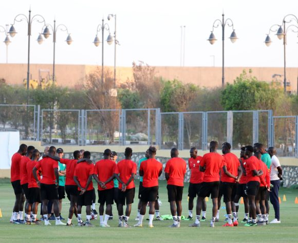 Senegal players during the 2019 Africa Cup of Nations Finals Senegal training at 30 June Annexe, Cairo, Egypt on 04 July 2019 ©Samuel Shivambu/BackpagePix