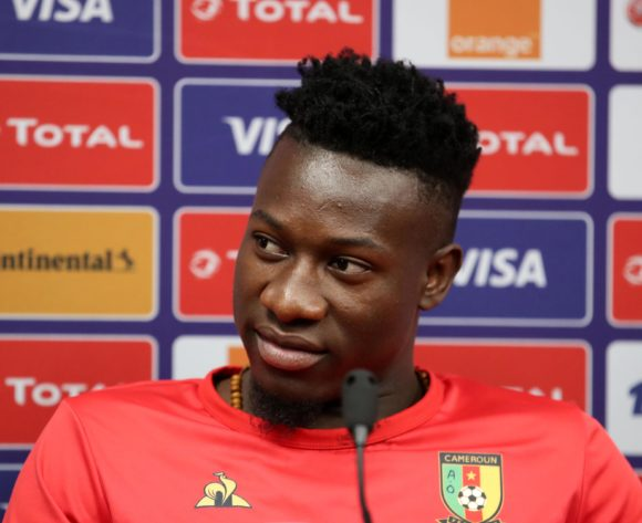 Andre Onana of Cameroon during the 2019 Africa Cup of Nations Cameroon Press Conference at the Alexandria Stadium, Alexandria on the 05 July 2019 ©Muzi Ntombela/BackpagePix