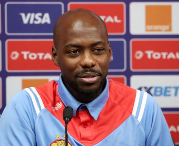 Mulumbu Yousuf of DR Congo during the 2019 Africa Cup of Nations DR Congo Press Conference at the Alexandria Stadium, Alexandria on the 05 July 2019 ©Muzi Ntombela/BackpagePix
