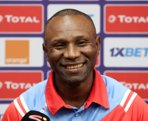 Florent Ibenge, head coach of DR Congo during the 2019 Africa Cup of Nations DR Congo Press Conference at the Alexandria Stadium, Alexandria on the 05 July 2019 ©Muzi Ntombela/BackpagePix