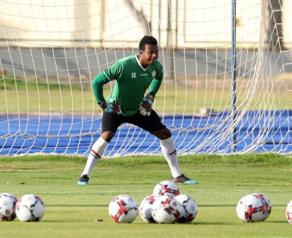 Jean Randrianasolo Leda of Madagascar during the 2019 Africa Cup of Nations Madagascar Training at the Borg El Arab Stadium Annex, Alexandria on the 05 July 2019 ©Muzi Ntombela/BackpagePix